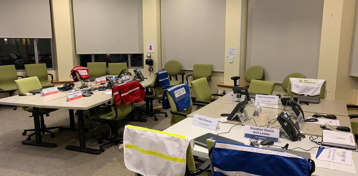 UC Berkeley Emergency Operations Center (EOC)